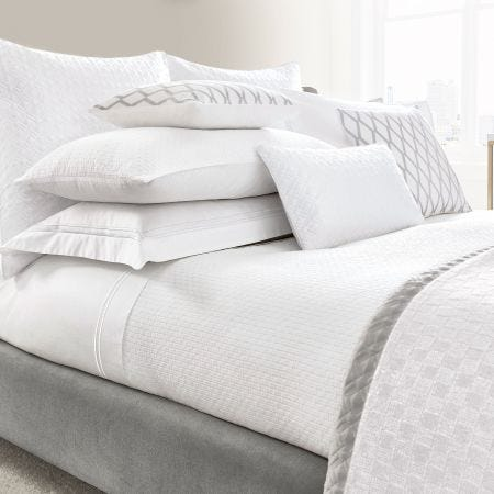 Maya White Bedding