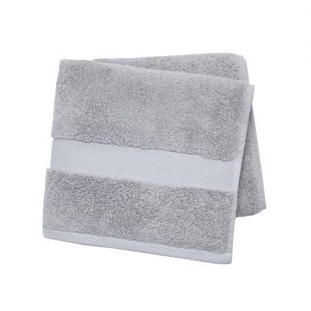 Savoy Silver Towels