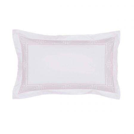 Tropea Oxford Pillowcase Dusky Pink