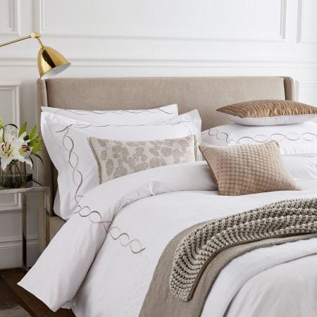 Vienne Truffle Head of Bed.
