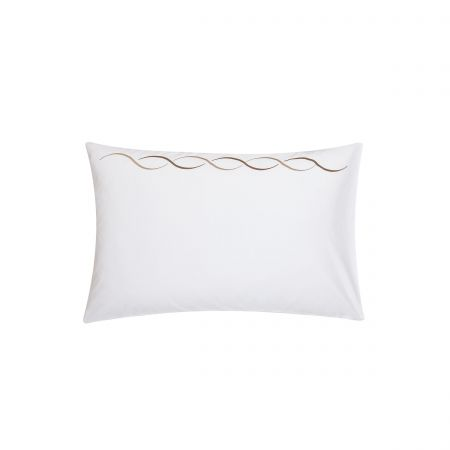 Vienne Truffle Housewife Pillowcase.
