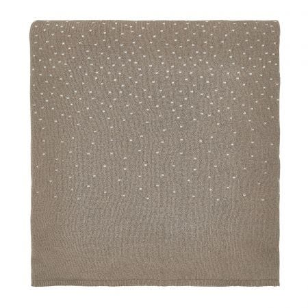 Renzo Truffle Knitted Throw