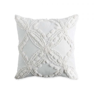 Metallic Chenille Cushion Ivory