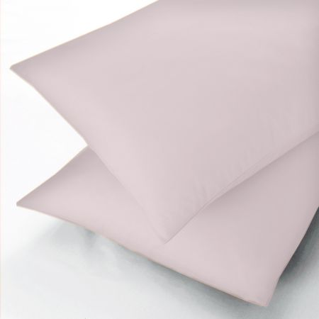 Sanderson Soft Pink 600 Thread Count Pillowcase
