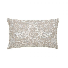 Pure Poppy Cushion 50cm x 30cm, Ecru