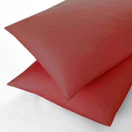 Red Oxford Pillow Case