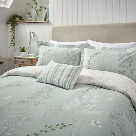 Summer Meadow Aqua Bedding