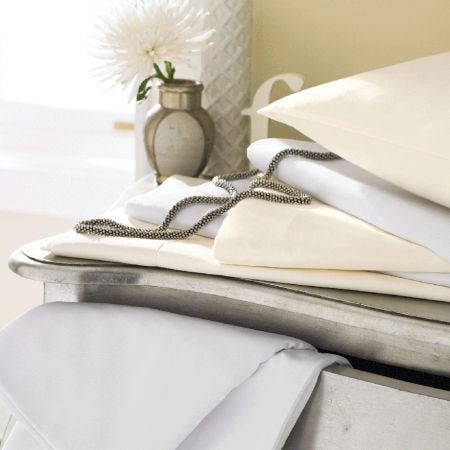 Luxury 600 Thread Count Egyptian Cotton Fitted Sheets (34cm Deep)