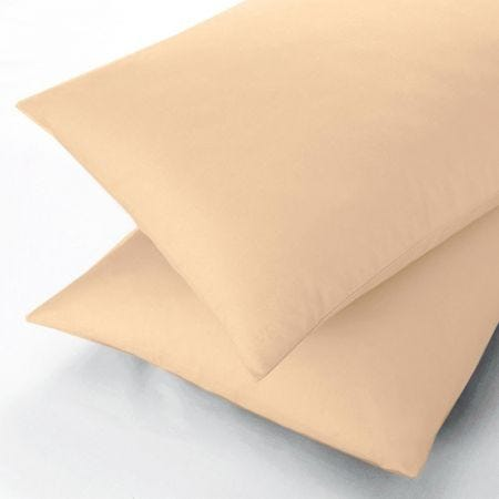 Gold Oxford Pillowcases from Sanderson
