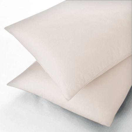 Sanderson Ivory Pillowcases, 600 Thread Count