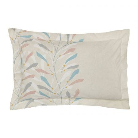 Sea Kelp Blush Oxford Pillowcase