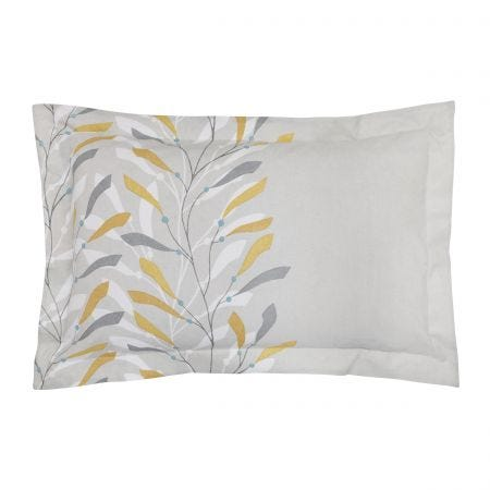 Sea Kelp Ochre Oxford Pillowcase
