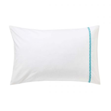 Jackfruit/Palm House Housewife Pillowcase, Indigo
