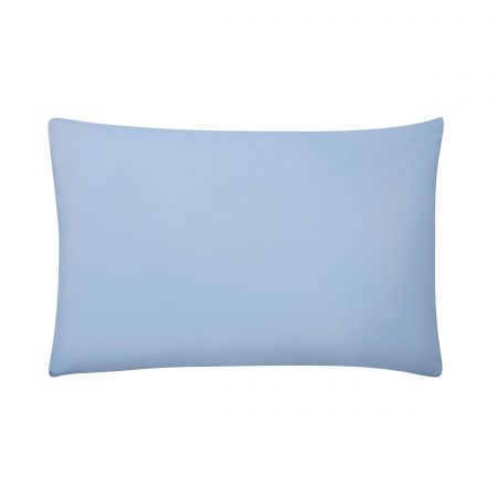 220 Thread Count Plain Dye Dove Blue Housewife Pillowcase