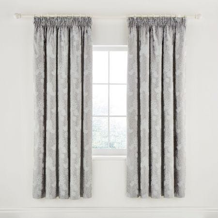 Ashbee Platinum Lined Curtains