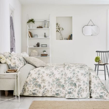 Eglantine Bedding Grey