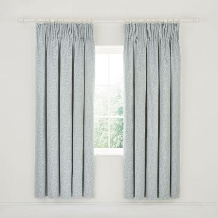 Kamala Lined Curtains Stone Grey