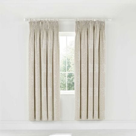 Lindos Lined Curtains Linen