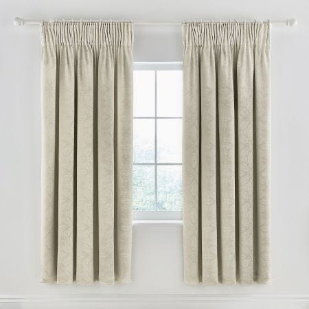 "Sycamore Lined Curtains 66"" x 72"", Stone"