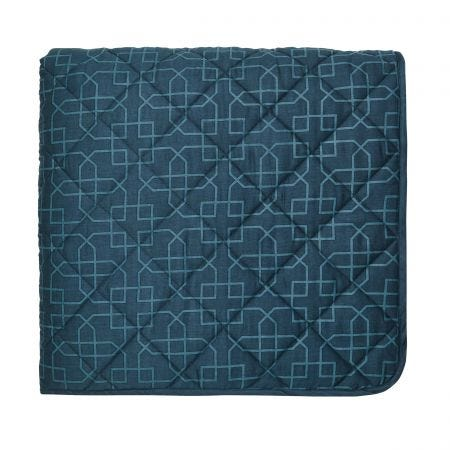 Tulipomania Quilted Throw