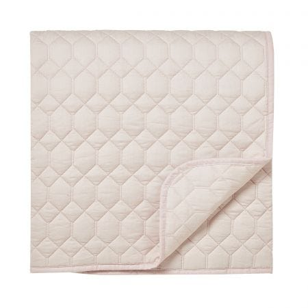 Tulipomainia Amethyst Quilted Throw