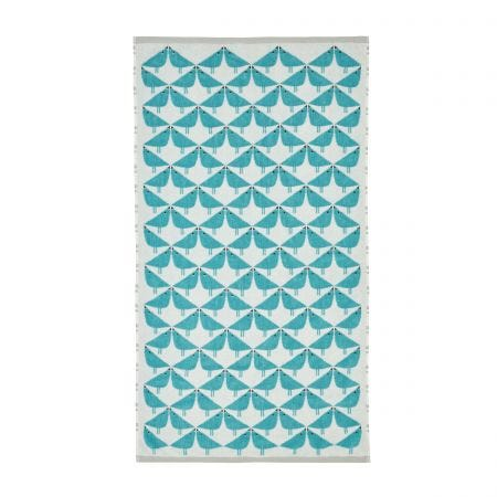 Lintu Teal Towels