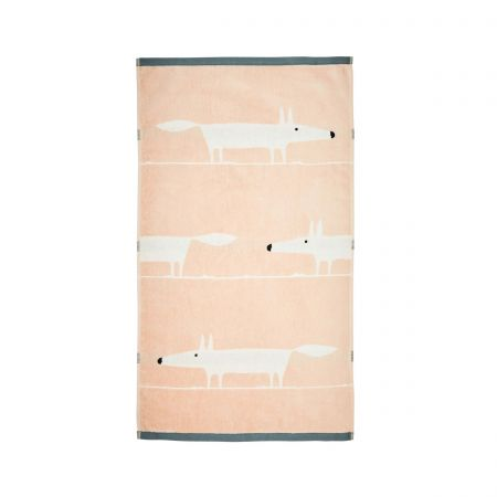 Mr Fox Towels, Blush