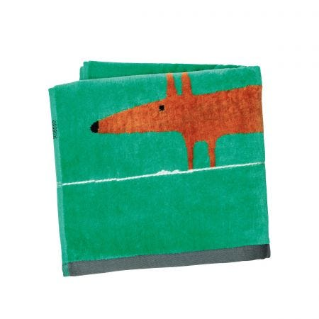 Mr Fox Hand Towel, Gecko