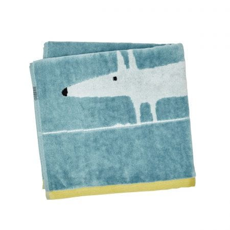 Mr Fox Hand Towel, Marine