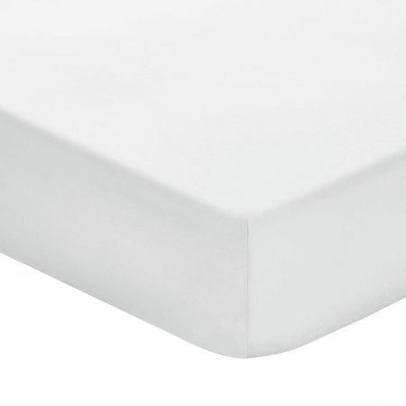 Plain Silver Fitted Sheets