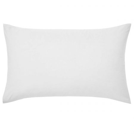 Luxury Plain Silver Pillowcase