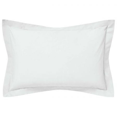 Luxury Silver Oxford Pillowcase