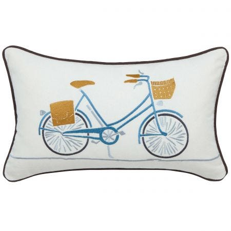Decorative Bike Bed Cushion