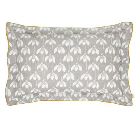 Snow Drop Print Pillowcase