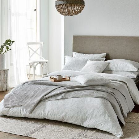 Pure Sunflower Silver Duvet Covers
