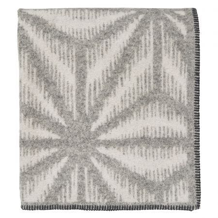 Tella Throw, Dove Grey