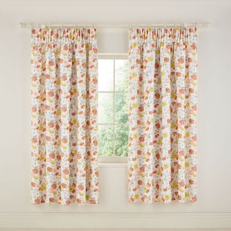 Poppy Garden Multi Curtains