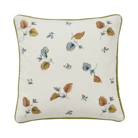 V&A Sweet Geranium Multi Cushion Front