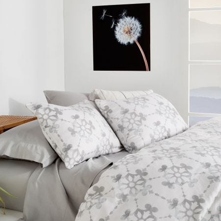 Lotus Grey Bedding