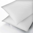 600 Thread Count Egyptian Cotton Square Oxford Pillowcase, White