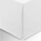 White Double Bed Valances