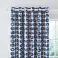 Ornella Lined Curtains Indigo by Helena Springfield