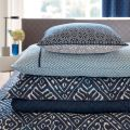 Indigo Bedding Accessories Stack