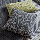 Grey & Yellow Cushion