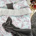Joules Rice Stitch Grey Throw