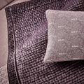 Amethyst Cushion & Throw