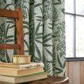 Costa Rica Fern Lined Curtains