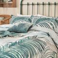 Palm Leaf Head of Bed Green