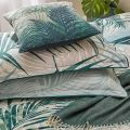 Palm Leaf Pillow Stack Green