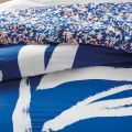 DKNY Abstract Floral Blue Bedding